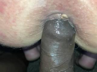 Enjoying that ass!