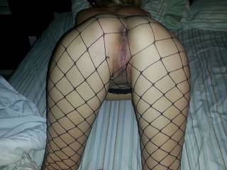 My whore showing her ass. please humiliate this slut.
