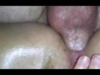 fuck that is an amazing close up of some hot anal action! Love it.
