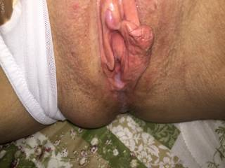Like cum running out of my pussy. Do you?