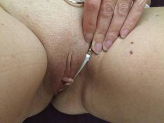 What a peach! Send my wife some naughty, kinky, comments to let her know your thoughts about her peach and how wonderful she looks please!
