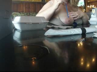 Love your big tits, and I love a fun girl like you. Mr. lew