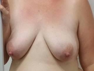 I wanna suck an nibble on your beautiful titties