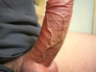 My veiny cock reay for a nice juicy pussy