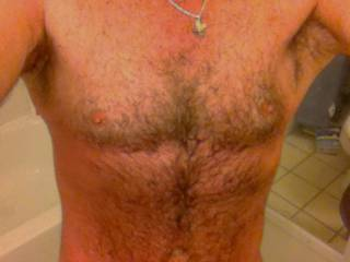 hairy chest for the ladies