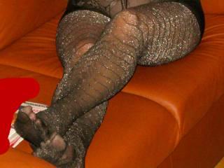 Do you like her pantyhose?