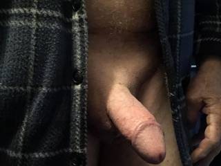 My cock is getting hard.
