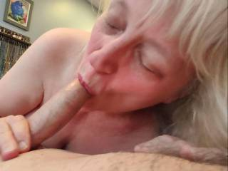 I can't wait until your cum is sliding down my throat. It's my favorite taste. Mmm... My newest blowjob video proves it!