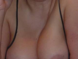 we want to see your cum over her Tits. Please reply with your dedication. Please contact us also if you want to photoshop some nice Pics of us.
