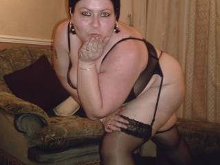 blowing hubby a kiss