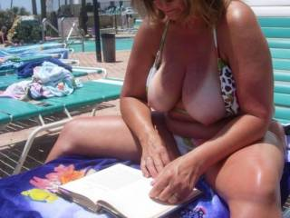 Great tan lines on those sexy tits of yours.. You look great out under the sun.