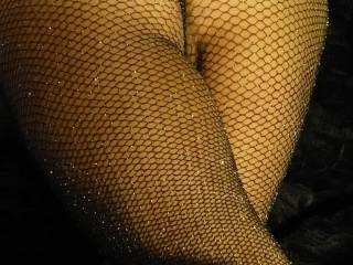 """i asked my girlfriend """"what does one wear with glitter fishnet stockings?"""" she answered """"ideally, nothing!"""" what is your opinion?"""