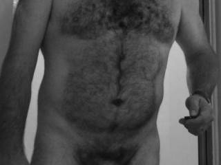 Do you like hairy mature men? Or how about feeling a hairy belly and chest with your hands or feeling a hairy ass while sucking me, you like it?