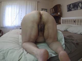 my mature friend  showing me her rear ....ive eaten, sucked ,fucked and licked her asshole and pussy so many times very tasty and juicy