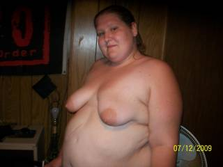 yes i  do love bbws and love you look so sexy and your tits are nice and big