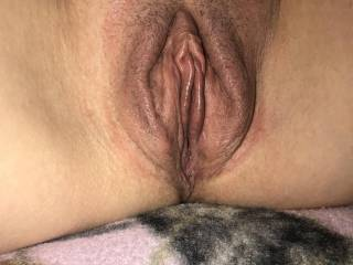 Results of using my new pussy pump for 29 minutes.  Who wants to see if I'm wet?