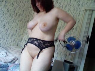 lick lick lick....very hot....you got me hard instantly.....beautiful tits!!!love to suck your tits!!!