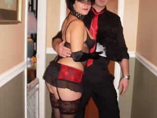 Me and my lovely girl going to a  party (2009)