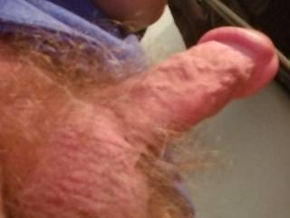 Sure wish it was bigger, maybe there is a new friend out there with a huge dick that will let me play with their's to see what a big one feels like in my hand.