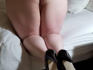 Wife Melissa's sexy, big ass