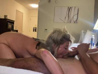 wife giving head to a stranger