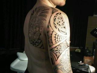 I'd like to lick every inch of your tattoo and then every inch of you  So crazy hot! The things we could do together ;)