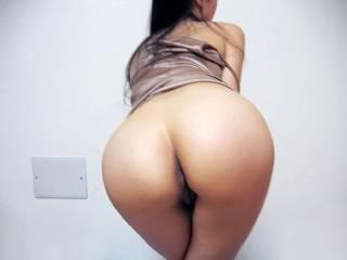 My round asian ass..