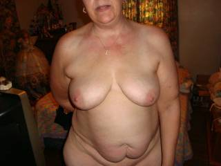 Lovely mature natural women . Great well age body for all men to enjoy . Like it