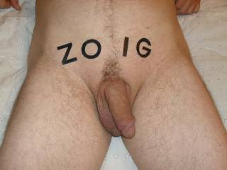My horny Husbands cock it his turn 100% ZOIG