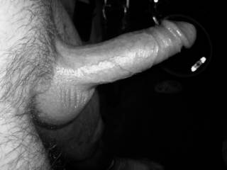 Yes its a very big cock, iv had it in my mouth and my pussy enough times and your cock makes me cum alot