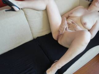 If I were you I would drop the camera and then drop to my knees and service that amazing pussy for as long as she could stand it!!! And then a little more!!! :P