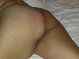 She loves it when I spank that ass.