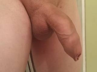 very nice , love the soft cock and awesome 4skin shot shows that cock off perfectly