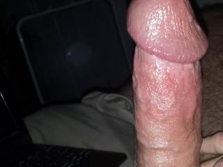 OMG, you look ready to explode... my mouth could release all this pressure of your big hard dick...