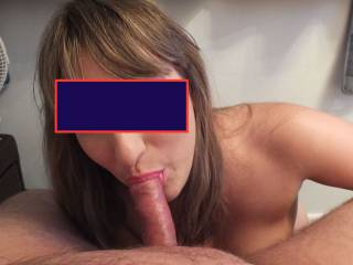 sucking my bf off, love to hear comments it keeps us posting, love to chat to couples swap pics etc swell much love xxxxxxx  IF I GET ENOUGH GOOD COMMENTS I WILL UPLOAD SOME MORE UNCENSORED PICS TOMORROW