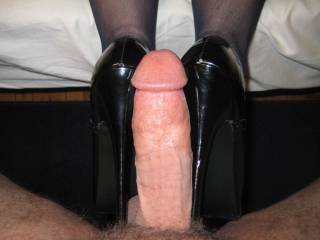 What do you think of my new 6.5 inch heels?