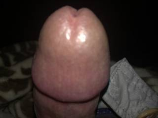 Who wants to suck this fat head?