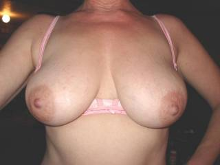 Awesome pair of Boobs! Big Soft Pink and totally Perfect! 10       xxx