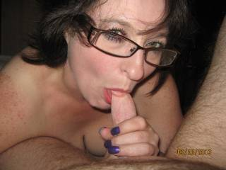 She loves a cock in her mouth