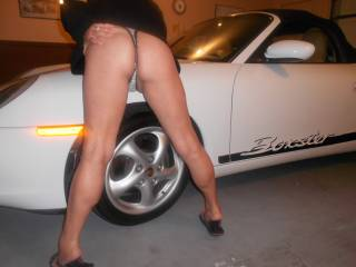 Would love to bend you over and penetrate you while that aweet engine is running!!!