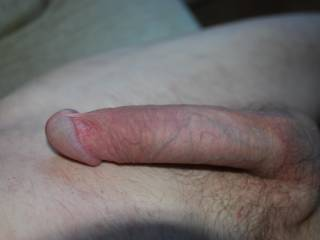 Great looking cock! I'd Luv to watch you dominate my sexy wife. Make her lick it and suck it till he's nice n hard. Then you bend her over, pull her hair and drive it nice n deep into her cock hungry pussy, fucking her real hard whilst fingering her ass with your other free finger. Then push her off you when you've had enough of her, splattering her sexy pussy with lots of cum, for me to lick clean, then fuck her myself..