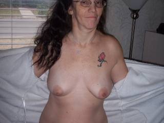 Let me warm those nips up by sucking on them!