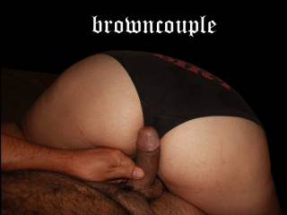 about to start reverse cowgirl ride