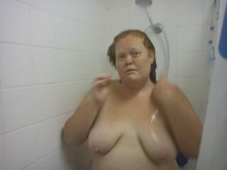 Let me soap your wonderful tits