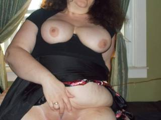 You're gorgeous. I'd love to lick your pussy and suck your clit whilst squeezing your boobs and teasing your nipples mmm. I wouldn't stop until you couldn't take anymore...
