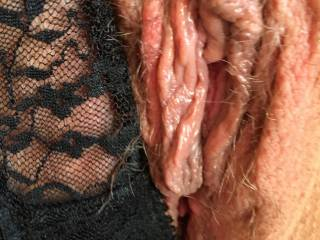 Meaty pussy needs eating