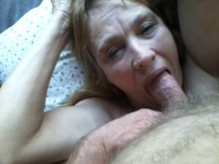 Even as the hurricane rors i pump cum in her mouth