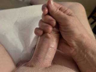 Like every other guy I enjoy masturbating and just wanted to show off.my mature cock.I think you'll find it interesting