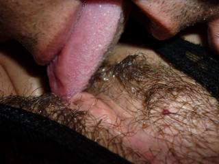 eating her pussy. mmmm it\'s yammy!!!