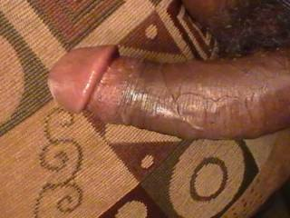 Put it in my mouth and watch is grow....rock hard.  You'll nut a third time. Mmmmm I like your hard black cock.   K